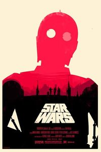 Olly Moss' Star Wars Poster
