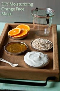 DIY natural moisturizing face mask