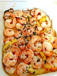 Roasted Lemon Garlic Herb Shrimp Cinnamon Girl Recipes
