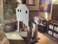 'Star Wars' AT-AT cat condo