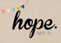 free printable....HOPE from Beautifully Rooted