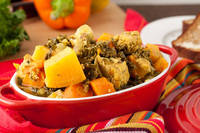 Crock-Pot Chicken and Rutabaga Greens Stew Healthful Pursuit