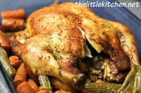 whole chicken in the crock pot