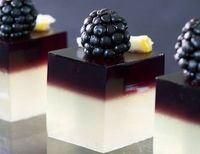 Since when did Jello Shots look like this, I feel like i've been missing out. Looks so Tasty!