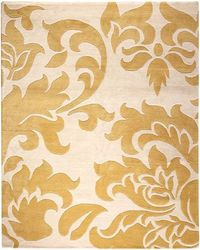 yellow accent rug