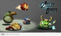[ Angry Birds + Avengers ]