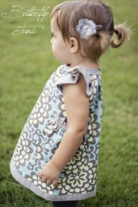 butterfly dress with free pattern and tutorial