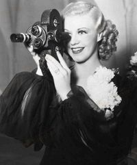 Love this photo of Ginger Rogers!
