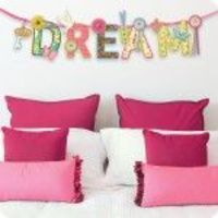 Create-A-Pennant - Inspirational sentiment with accents to decorate and hang!