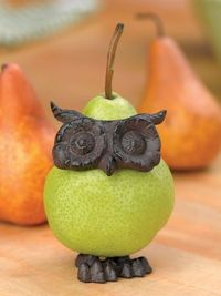 Not that you need to decorate your fruit, but as a chi o, I feel an obligation to post this :)