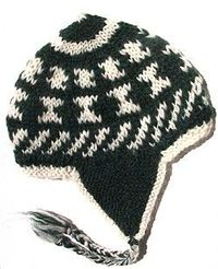 Winter cap pattern