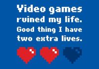 Oh, video games...
