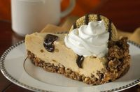 Peanut Butter and Chocolate Swirl Pie