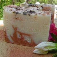Jasmine Grandiflorum From India & Moroccan Clay Organic Soap $10.00