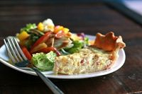 This is a great quiche recipe! She also has many others to choose from!