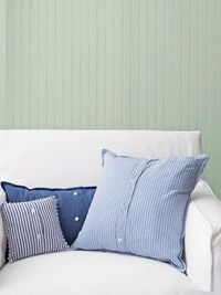 Upcycle Shirts into Pillows