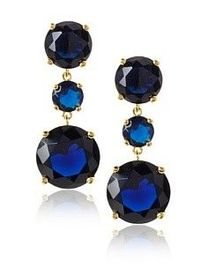 big gems. noir jewelry