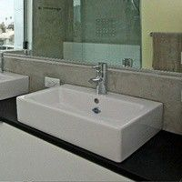 Bathroom Sink on EcoTop Counter