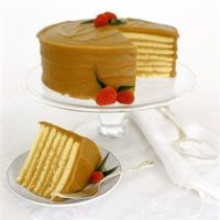 Caroline's Cakes - Seven Layer Caramel Cake. Sinfully delicious.