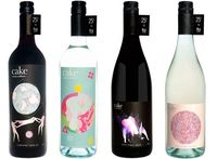 Cake wines has beautiful labels... and 25c from each bottle goes to FBI radio!