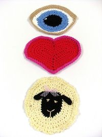 Eye Heart Ewe! pattern