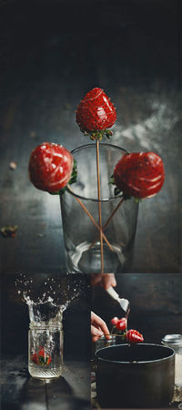 Candied Strawberries Food Photography Strawberries NYC Vkrees Photography Vanessa Rees