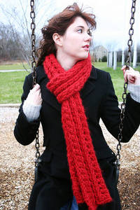 Wisteria Scarf from sewwrong.blogspot.com