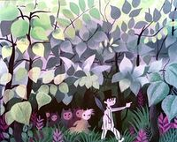 Mary Blair, love the soft colors
