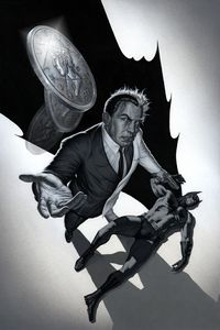 Two-Face vs. Batman by ~No-Sign-of-Sanity