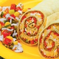 "Taco Rolls......... ""My Fridge Food"" - click on site, click your ingredients in the kitchen - give you a recipe ;)"