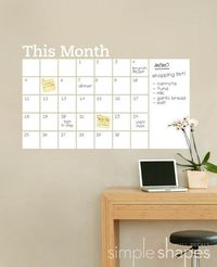 Such a cute idea for an office or room!
