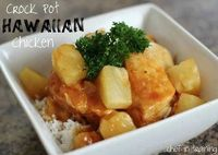 Crock Pot Hawaiian Chicken