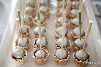 Loving the waffle cone cups to hold the cake pops!