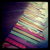 paper strip garland
