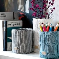 Will knit these! Great idea for leftover yarn.