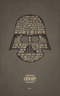 Darth, you ARE my poster. #starwars #darthvader #print #poster #typography