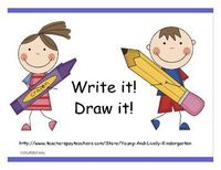 Use these handouts to have students spell and write simple words....