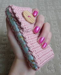 All About Ami - Cell Phone Cozy Tutorial #3