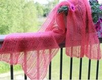 Besides the obvious elegance and beauty captured within this stole, what makes this pattern even more intriguing is that it's knit with just one row. That's right, all you do is repeat a single row of knitting - and voila - you'll have your ow...