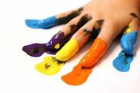 How to Make Finger Paint for Kids