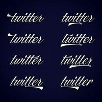 Beautiful Alternate Twitter Logo From The 1920�€�s By Ale Paul